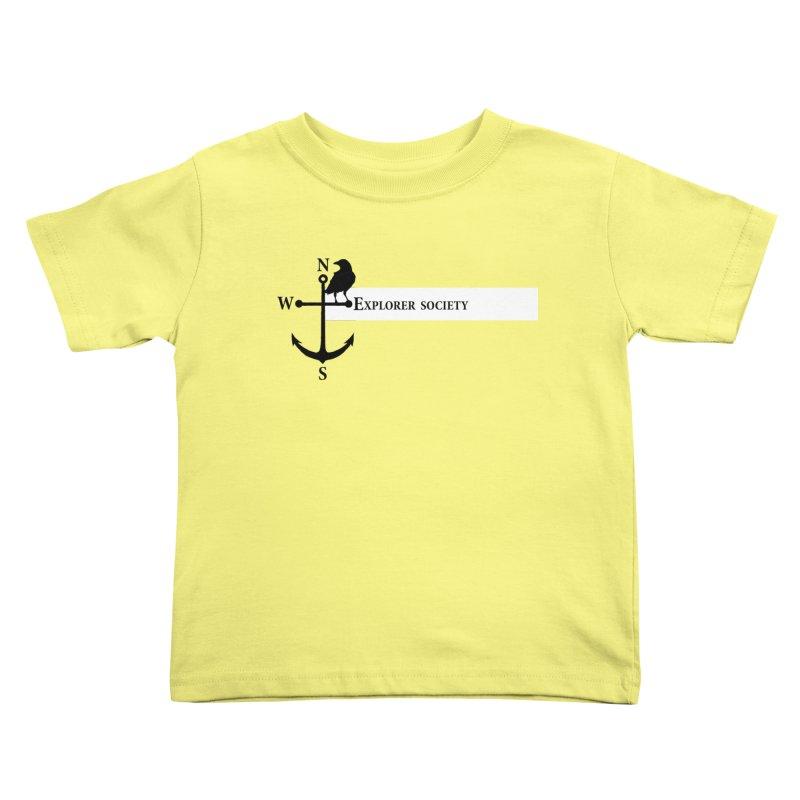 Explorer Society Kids Toddler T-Shirt by CLINTZERO ONLINE SHOP