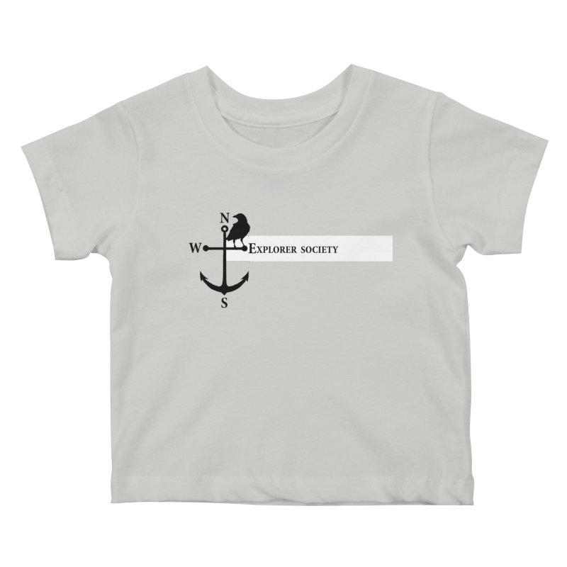 Explorer Society Kids Baby T-Shirt by CLINTZERO ONLINE SHOP