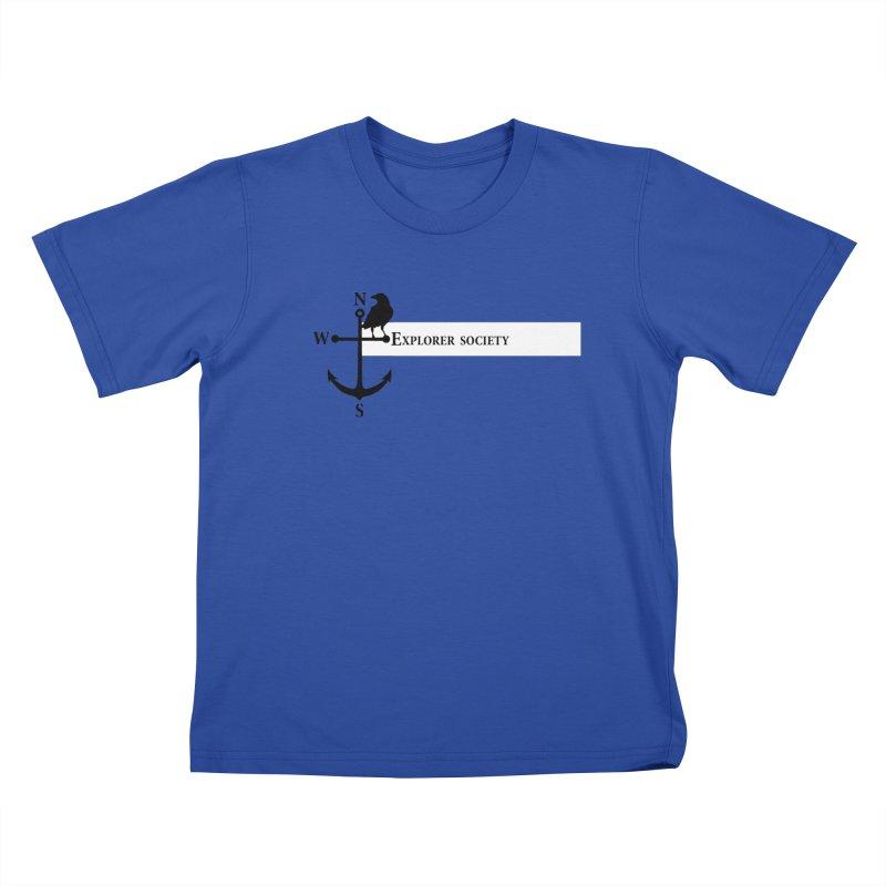 Explorer Society Kids T-Shirt by CLINTZERO ONLINE SHOP