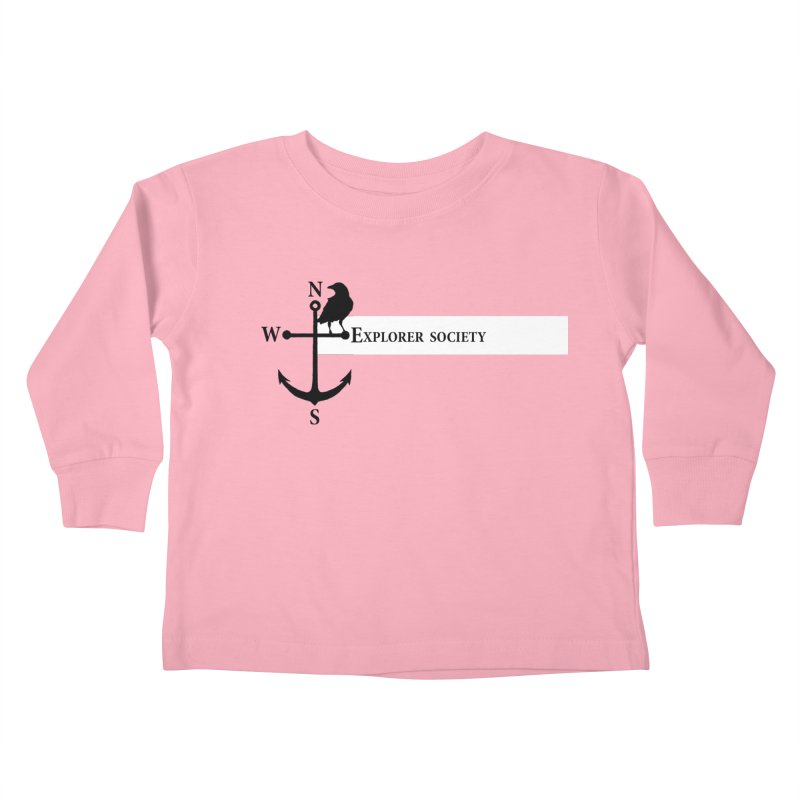 Explorer Society Kids Toddler Longsleeve T-Shirt by CLINTZERO ONLINE SHOP
