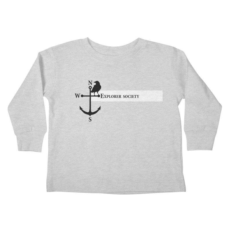 Explorer Society Kids Toddler Longsleeve T-Shirt by CLINTZERO ONLINE SHOP