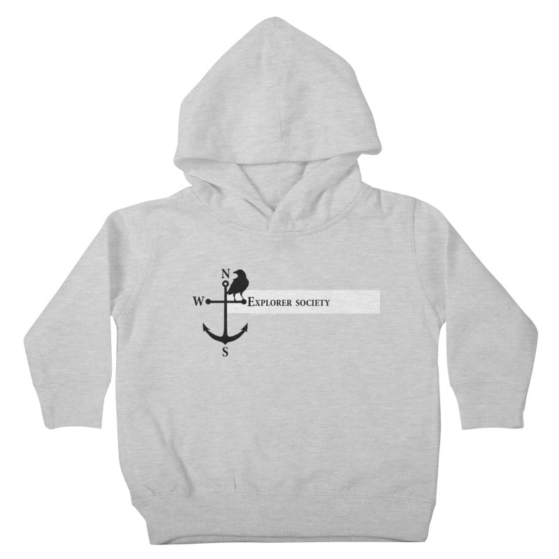 Explorer Society Kids Toddler Pullover Hoody by CLINTZERO ONLINE SHOP
