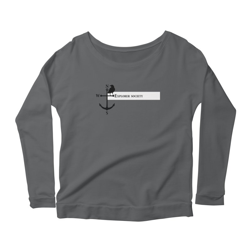 Explorer Society Women's Longsleeve Scoopneck  by CLINTZERO ONLINE SHOP