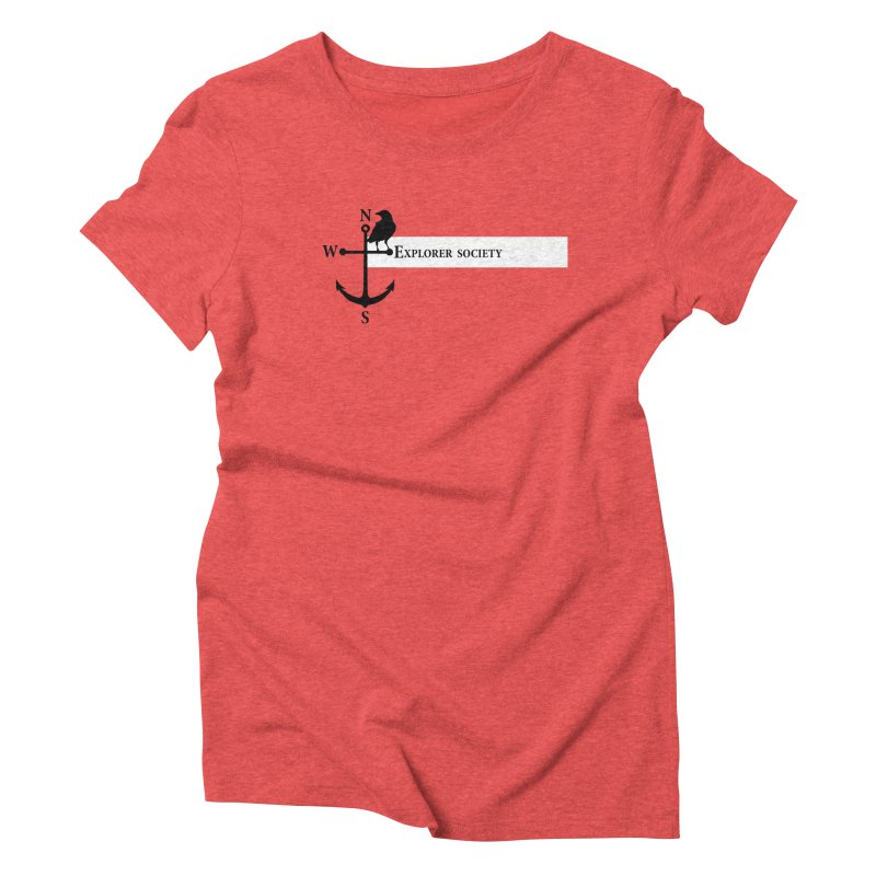 Explorer Society Women's Triblend T-Shirt by CLINTZERO ONLINE SHOP