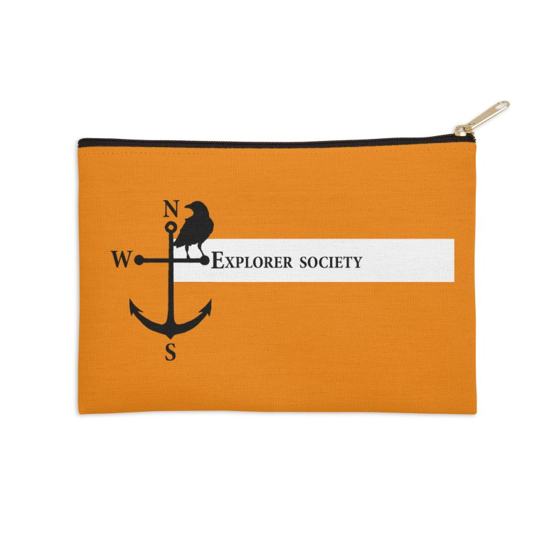 Explorer Society Accessories Zip Pouch by CLINTZERO ONLINE SHOP