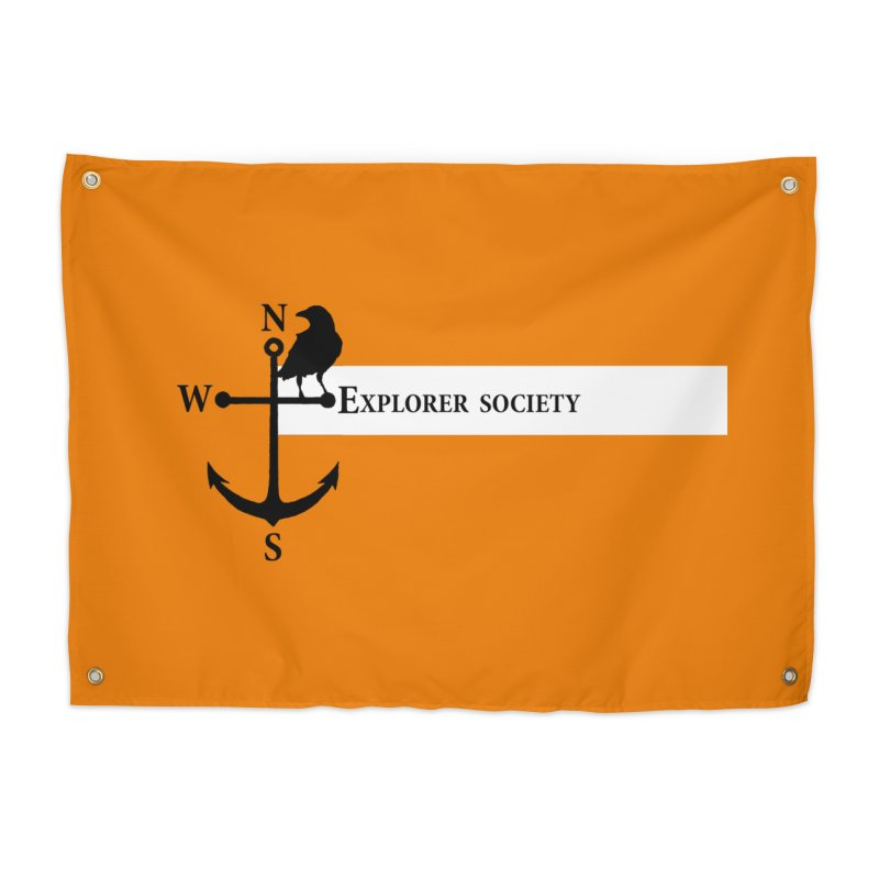 Explorer Society Home Tapestry by CLINTZERO ONLINE SHOP