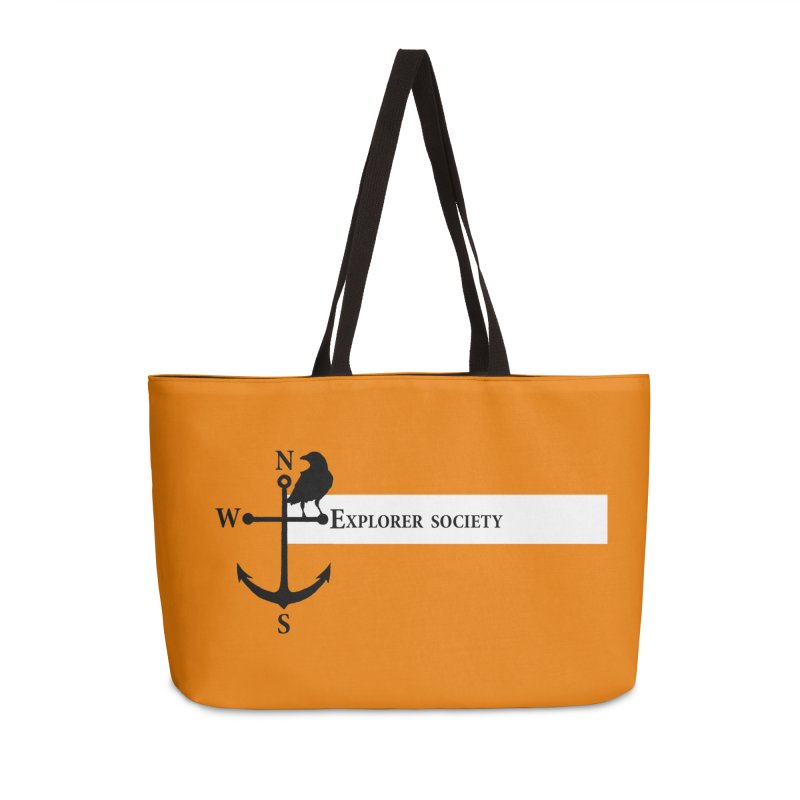 Explorer Society Accessories Weekender Bag Bag by CLINTZERO ONLINE SHOP