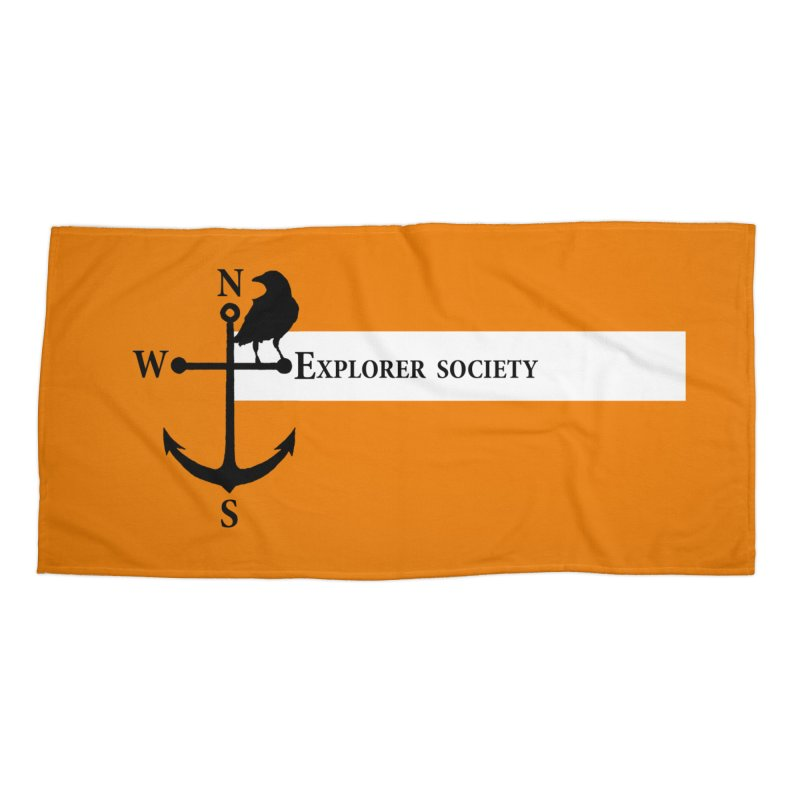 Explorer Society Accessories Beach Towel by CLINTZERO ONLINE SHOP
