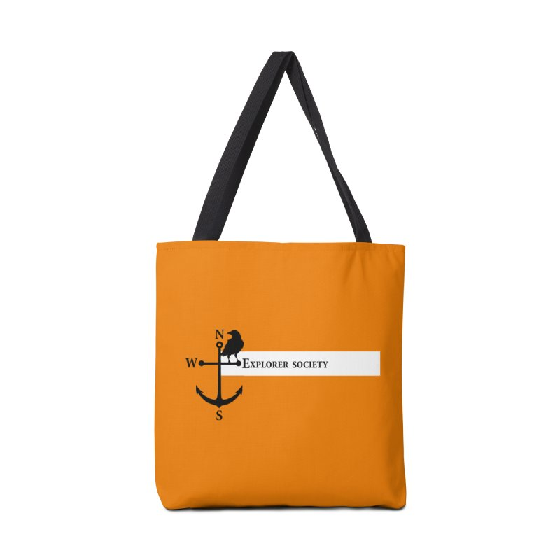 Explorer Society Accessories Tote Bag Bag by CLINTZERO ONLINE SHOP