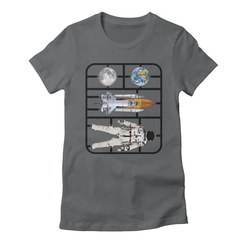 Astro Women's Fitted T-Shirt by Clipdepelicula