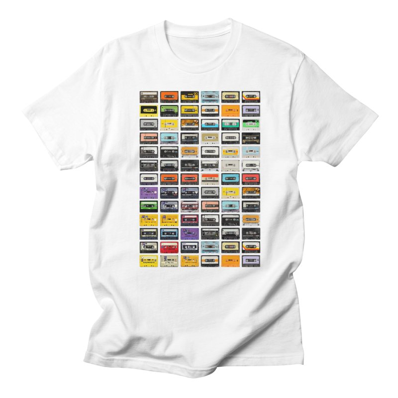 Cassettes Men's T-shirt by Clipdepelicula