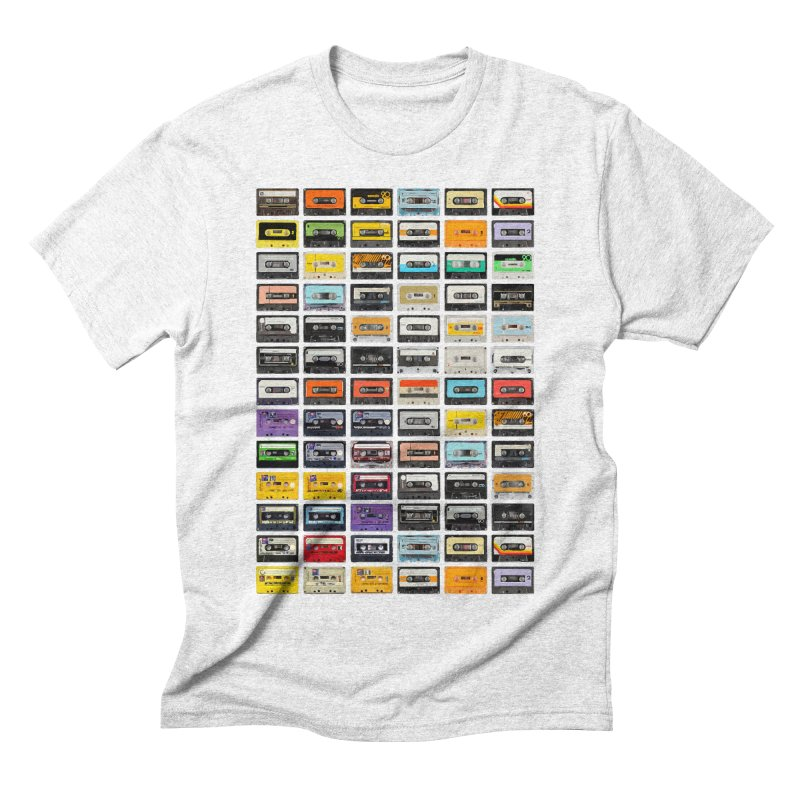 Cassettes Men's Triblend T-shirt by Clipdepelicula