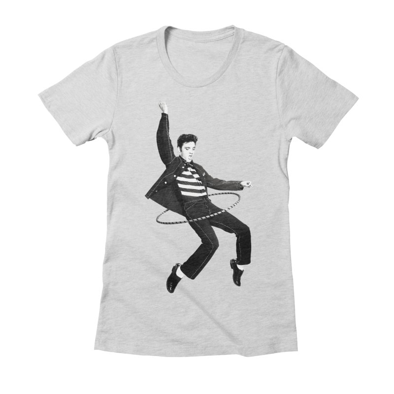 Elvis Women's Fitted T-Shirt by Clipdepelicula