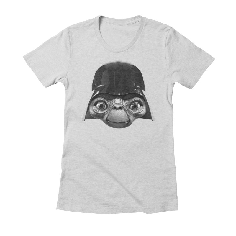 ET Women's Fitted T-Shirt by Clipdepelicula