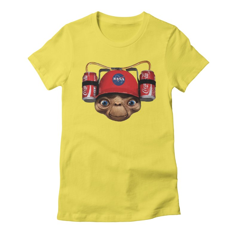 ET2 Women's Fitted T-Shirt by Clipdepelicula