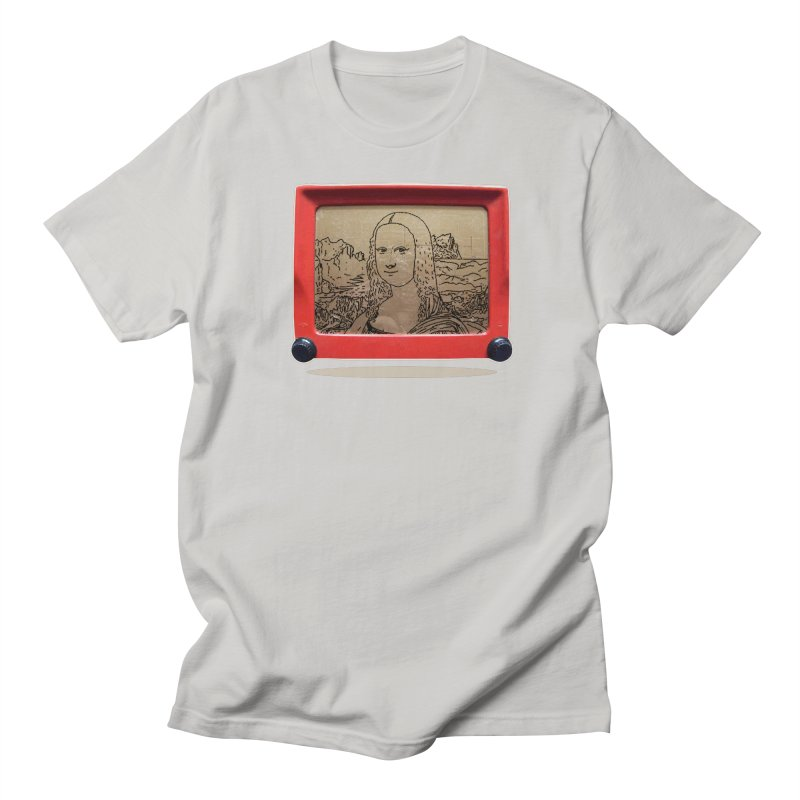 Telesketch Men's T-shirt by Clipdepelicula