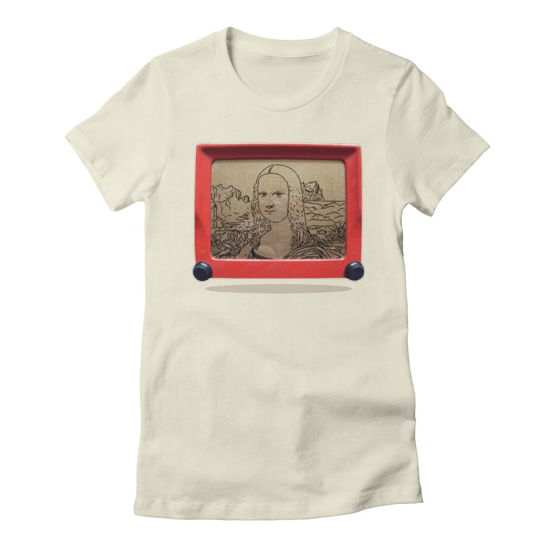 Telesketch Women's Fitted T-Shirt by Clipdepelicula