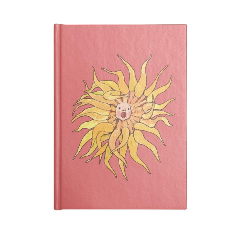 Sea Anemone, Actinia, Marine Creature, Bizarre Surreal Accessories Notebook by Clipso-Callipso