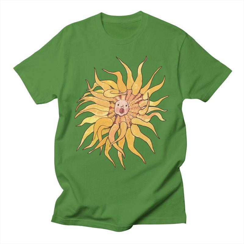 Sea Anemone, Actinia, Marine Creature, Bizarre Surreal Men's T-Shirt by Clipso-Callipso