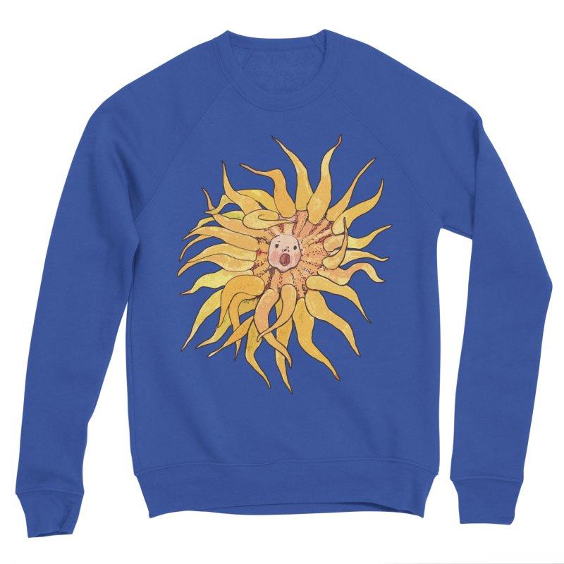 Sea Anemone, Actinia, Marine Creature, Bizarre Surreal Men's Sweatshirt by Clipso-Callipso