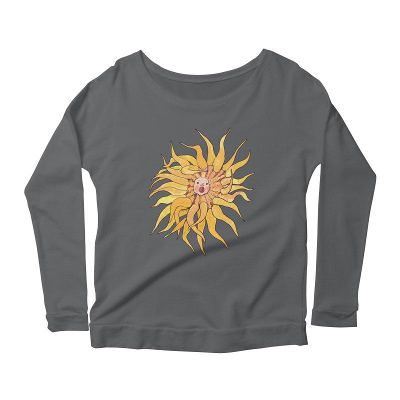 Sea Anemone, Actinia, Marine Creature, Bizarre Surreal Women's Longsleeve T-Shirt by Clipso-Callipso