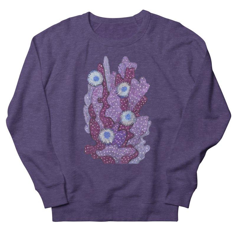 Blooming Cactus, Succulent Flowers, Purple Violet Men's Sweatshirt by Clipso-Callipso