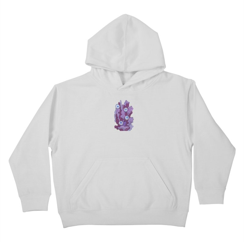 Blooming Cactus, Succulent Flowers, Purple Violet Kids Pullover Hoody by Clipso-Callipso