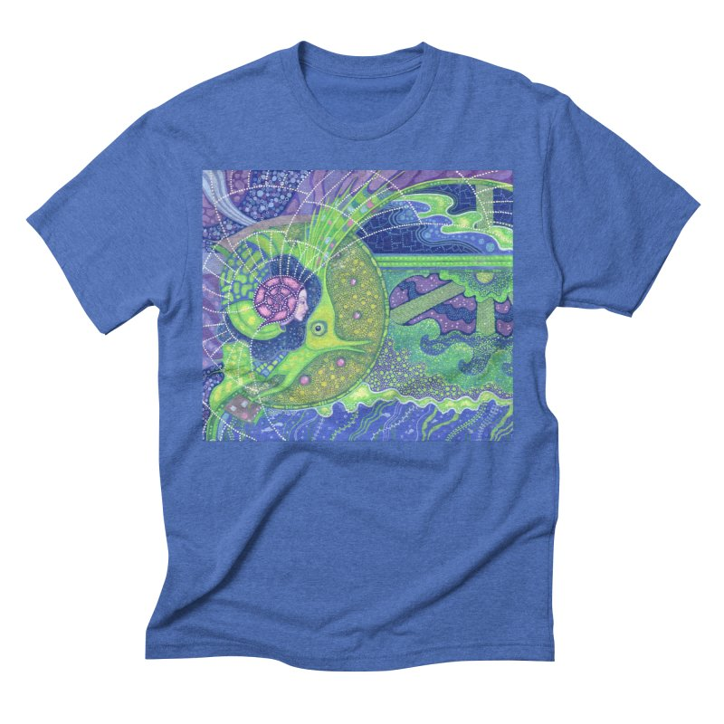 Dream Of the Fullmoon, Surreal Nautical, Fantasy Art Men's T-Shirt by Clipso-Callipso