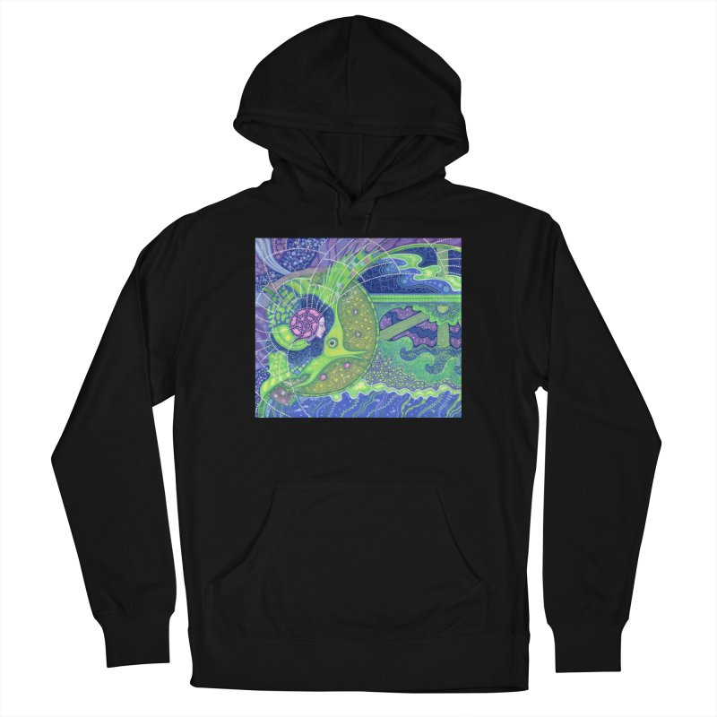 Dream Of the Fullmoon, Surreal Nautical, Fantasy Art Men's Pullover Hoody by Clipso-Callipso