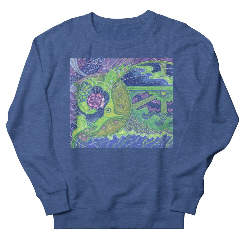 Dream Of the Fullmoon, Surreal Nautical, Fantasy Art Women's Sweatshirt by Clipso-Callipso