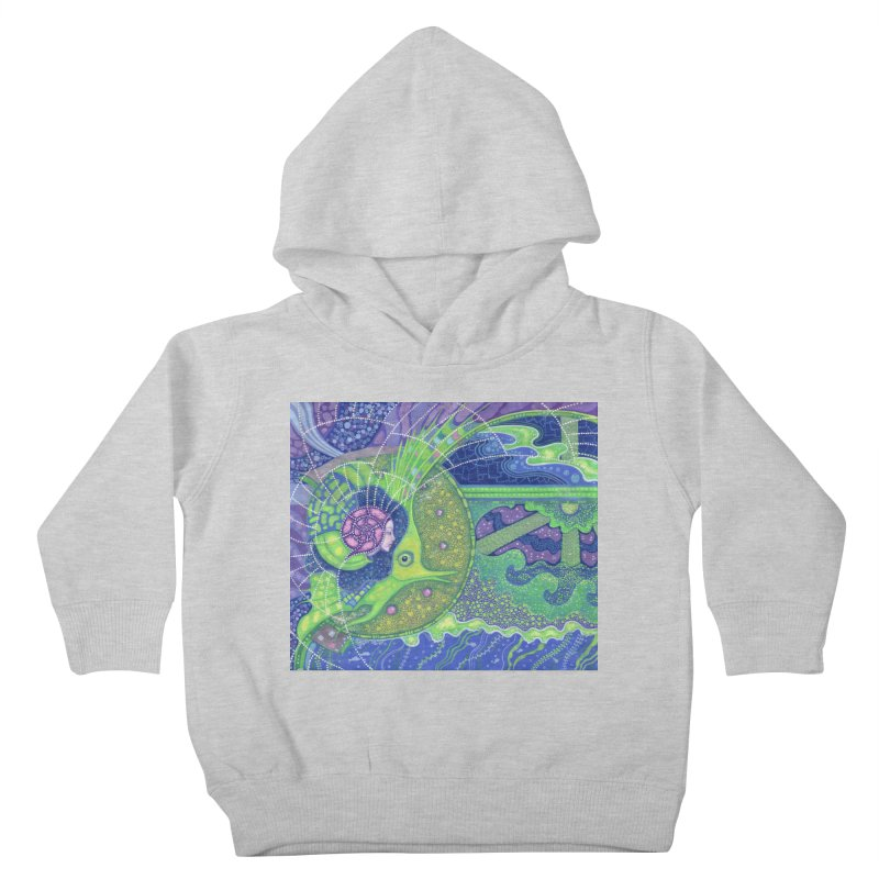 Dream Of the Fullmoon, Surreal Nautical, Fantasy Art Kids Toddler Pullover Hoody by Clipso-Callipso