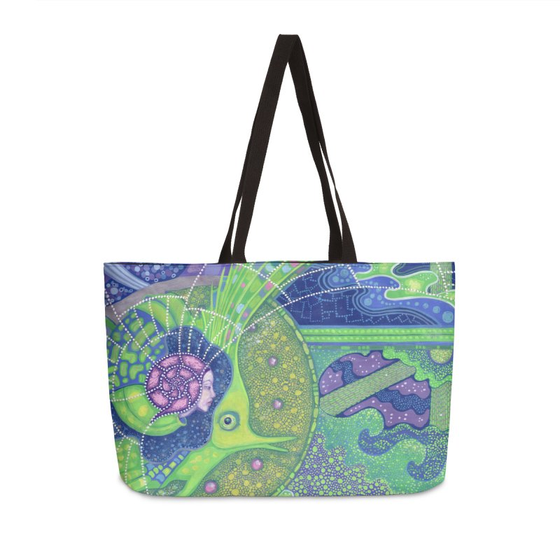 Dream Of the Fullmoon, Surreal Nautical, Fantasy Art Accessories Bag by Clipso-Callipso