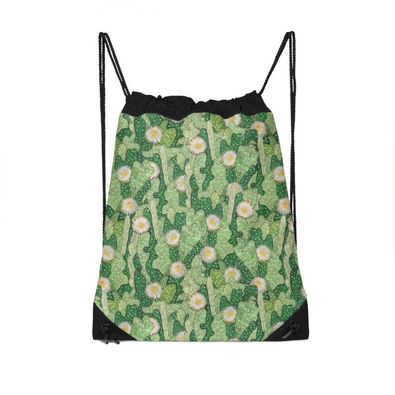 Cacti Camo, Blooming Cactus, Succulent Floral Pattern Accessories Bag by Clipso-Callipso
