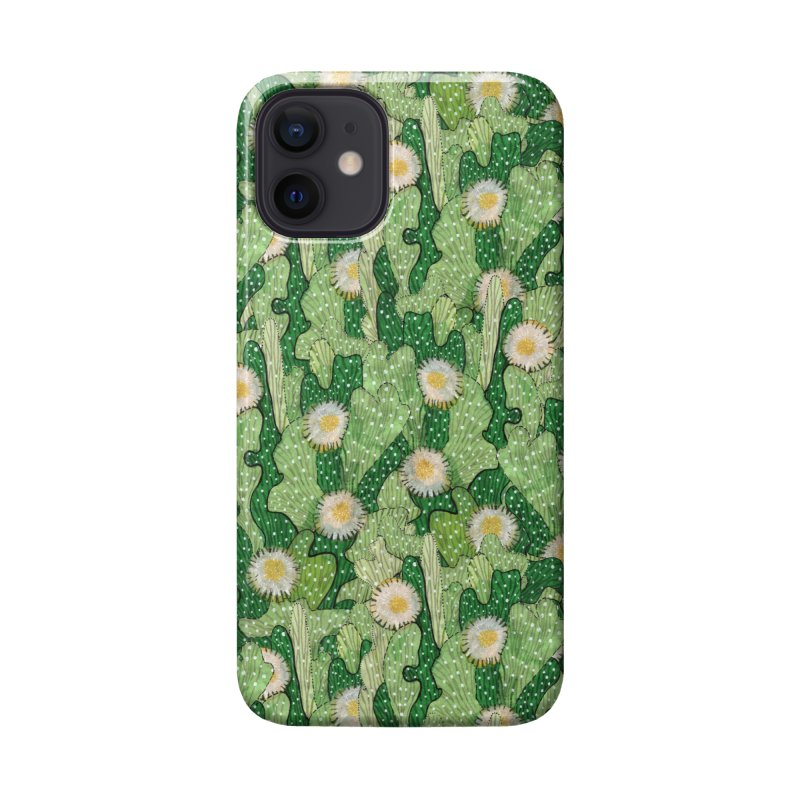 Cacti Camo, Blooming Cactus, Succulent Floral Pattern Accessories Phone Case by Clipso-Callipso