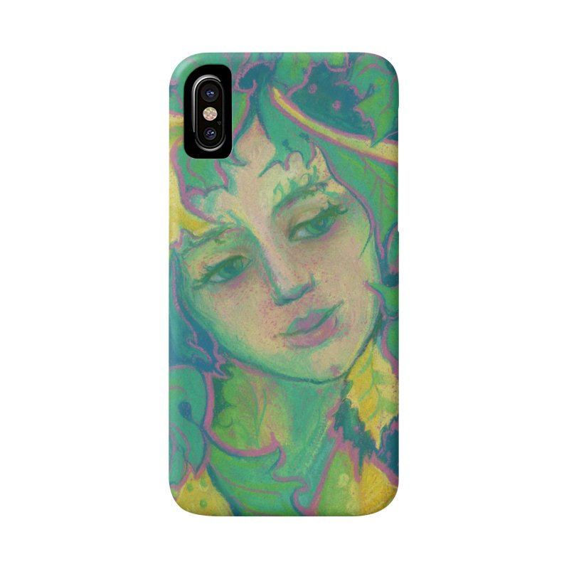 Forest Spirit, Tree Goddess, Fantasy Art Accessories Phone Case by Clipso-Callipso