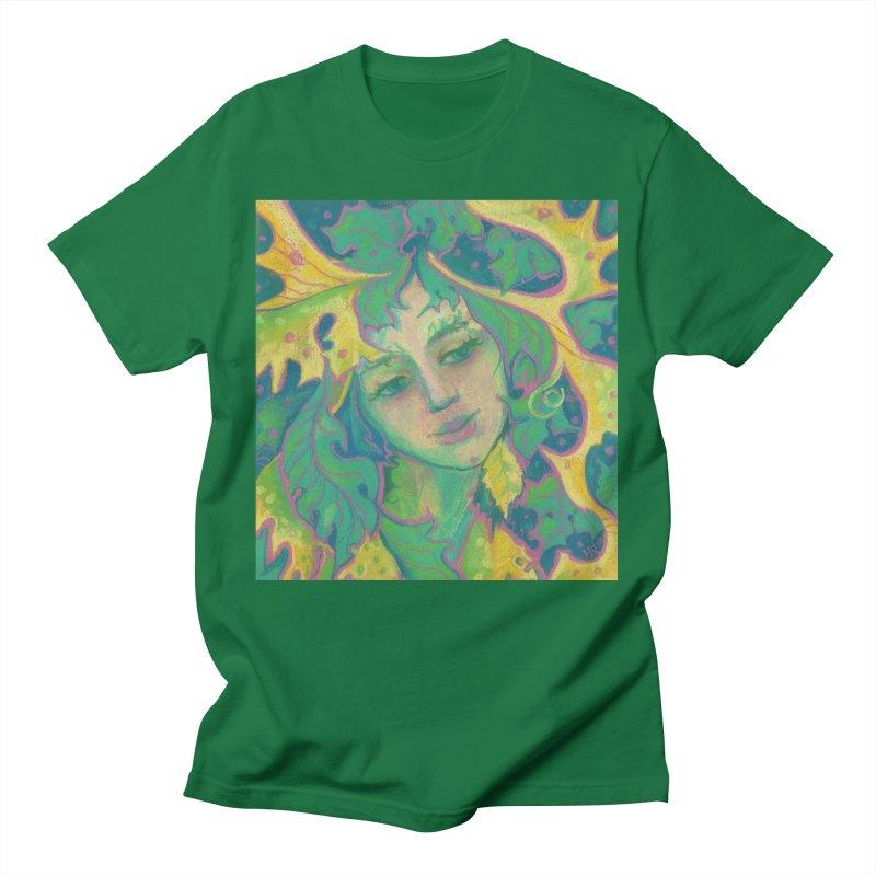 Forest Spirit, Tree Goddess, Fantasy Art Men's T-Shirt by Clipso-Callipso