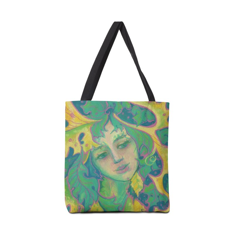 Forest Spirit, Tree Goddess, Fantasy Art Accessories Bag by Clipso-Callipso