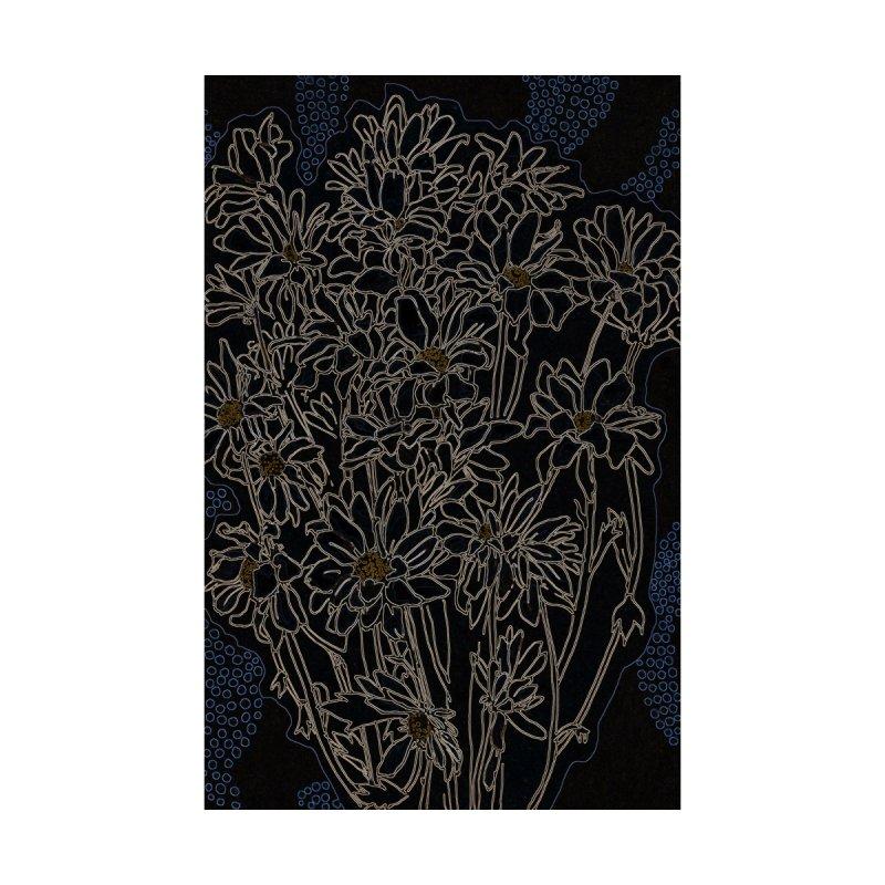 Daisy Chrysanthemum, black Women's Tank by Clipso-Callipso