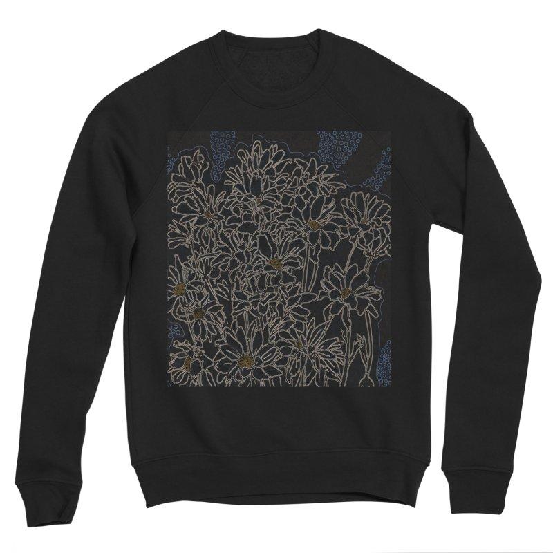 Daisy Chrysanthemum, black Women's Sweatshirt by Clipso-Callipso
