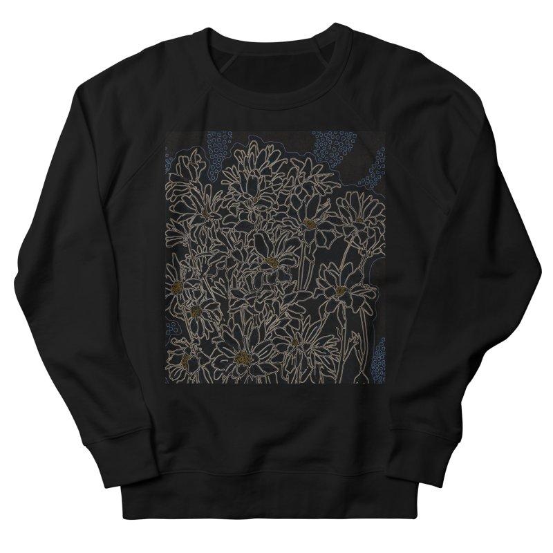 Daisy Chrysanthemum, black Men's Sweatshirt by Clipso-Callipso