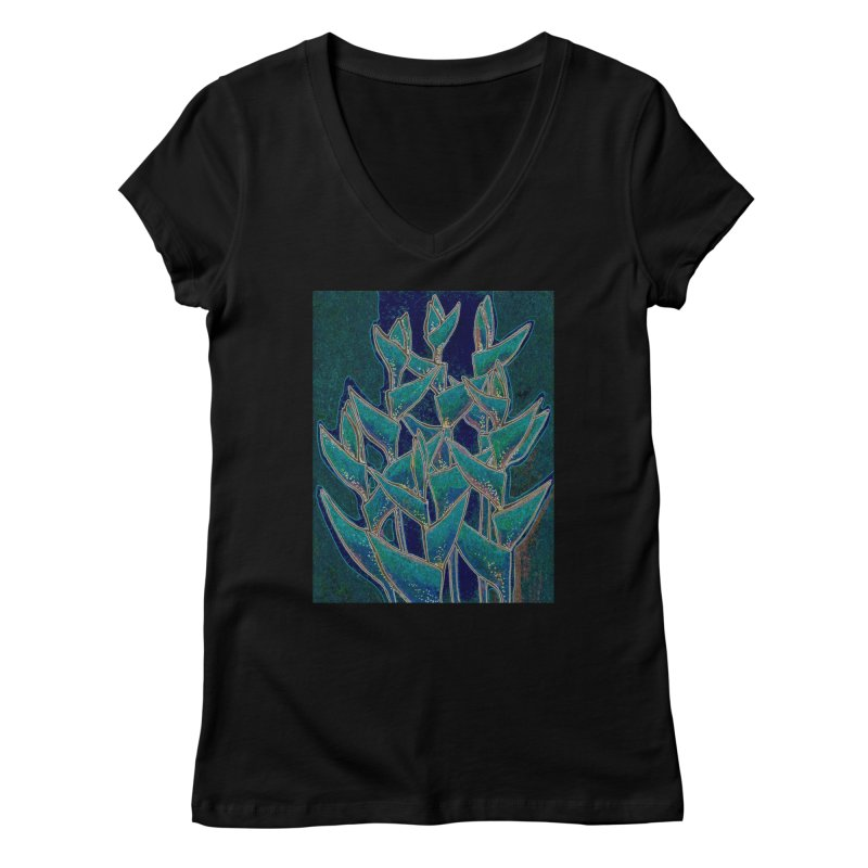 Lobster Claw, Twilight Version Women's V-Neck by Clipso-Callipso