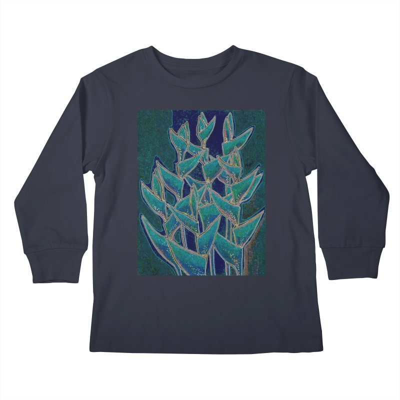 Lobster Claw, Twilight Version Kids Longsleeve T-Shirt by Clipso-Callipso
