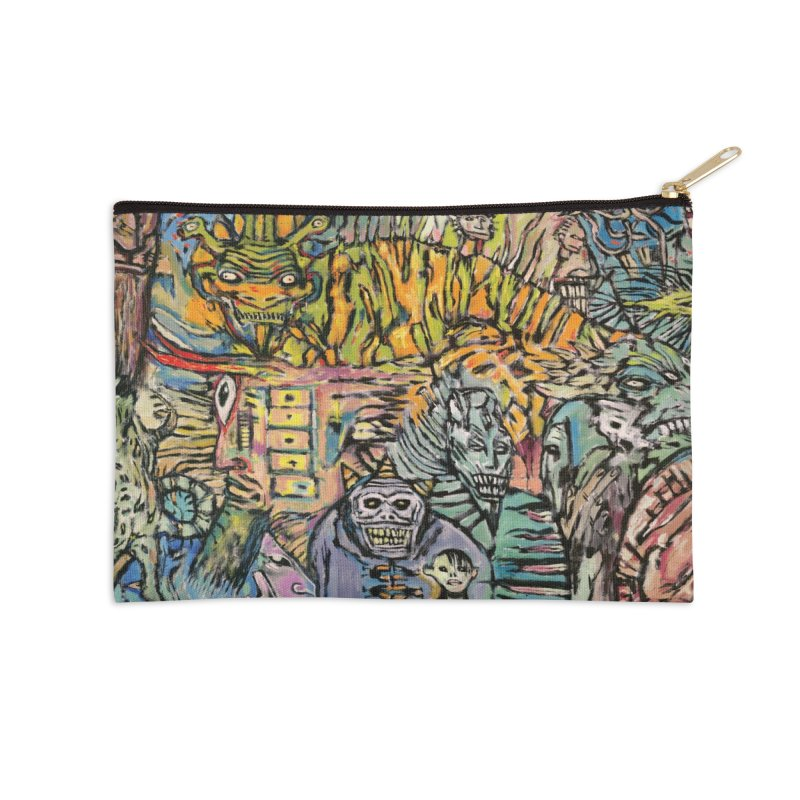 Babilonium After Midnight Accessories Zip Pouch by Clive Barker