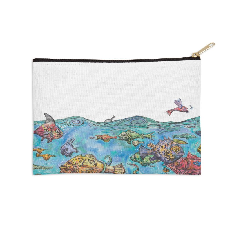 The Izabella Accessories Zip Pouch by Clive Barker
