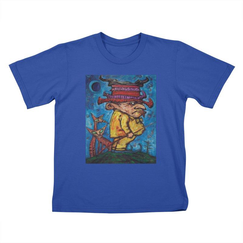 Kaspar Wolfswinkel Kids T-Shirt by Clive Barker
