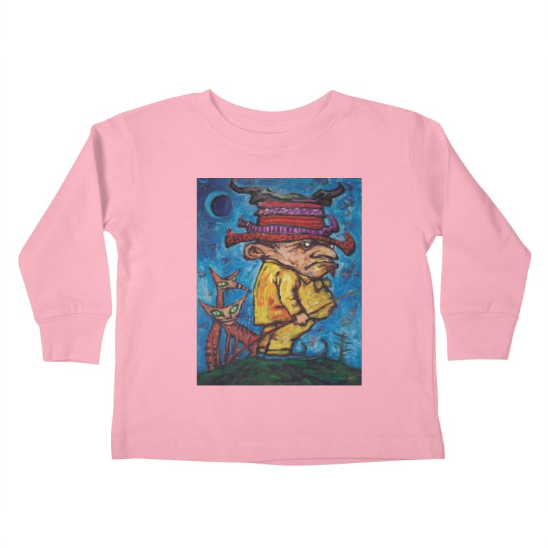 Kaspar Wolfswinkel Kids Toddler Longsleeve T-Shirt by Clive Barker