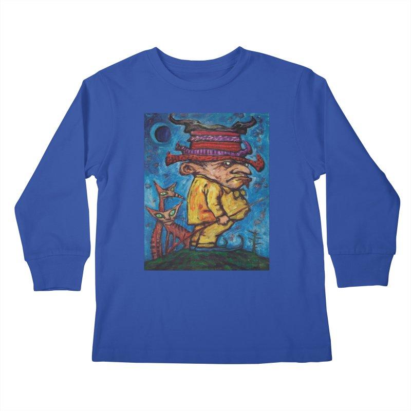 Kaspar Wolfswinkel Kids Longsleeve T-Shirt by Clive Barker