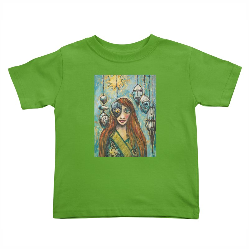 Untitled Seer Kids Toddler T-Shirt by Clive Barker