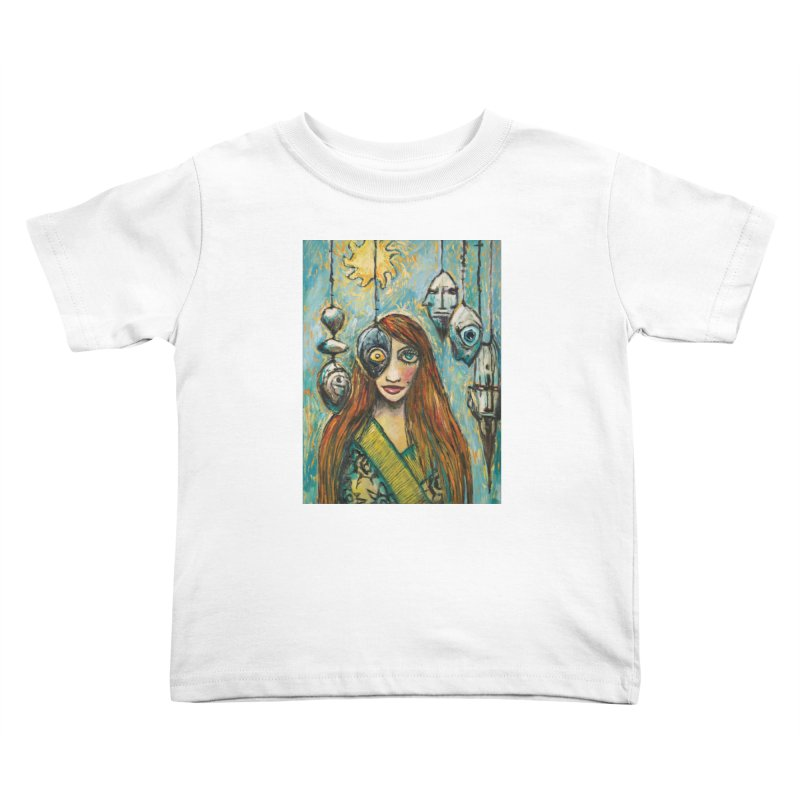 Untitled Seer Kids Toddler T-Shirt by Clive Barker