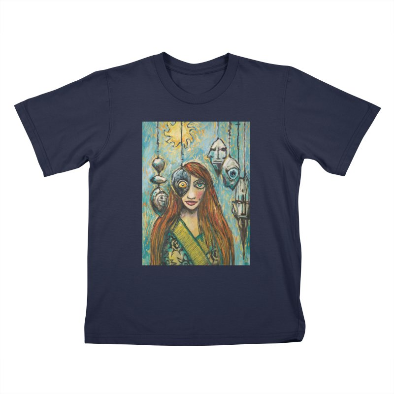 Untitled Seer Kids T-Shirt by Clive Barker